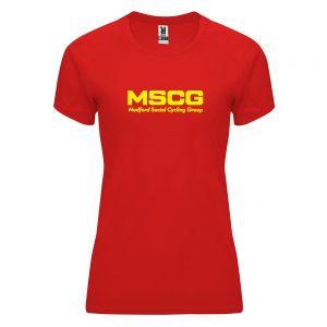MSCG Womens Technical T-shirt
