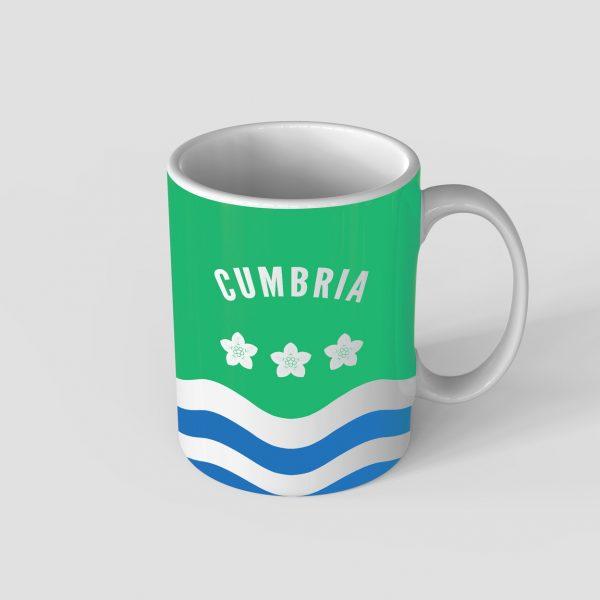 Cumbria County Mug