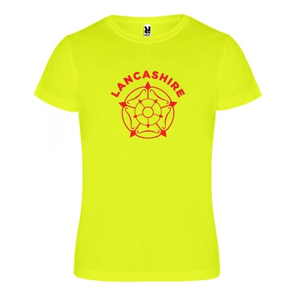 Lancashire Rose Technical Running T-shirt