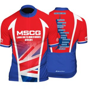 LEJOG Mens Short Sleeve Cycling Jersey