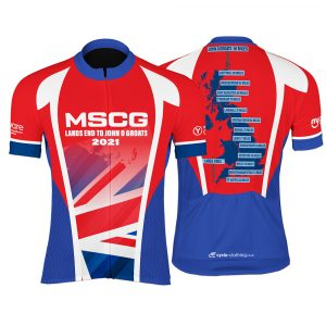 LEJOG Ladies Short Sleeve Cycling Jersey