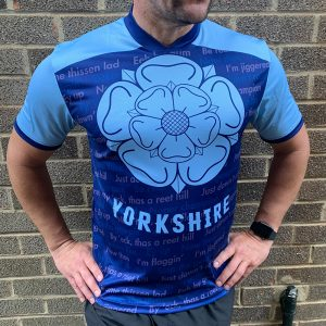 Yorkshire Dialect Mens Running T-shirt