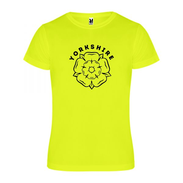 Yorkshire Rose Mens Technical T-shirt