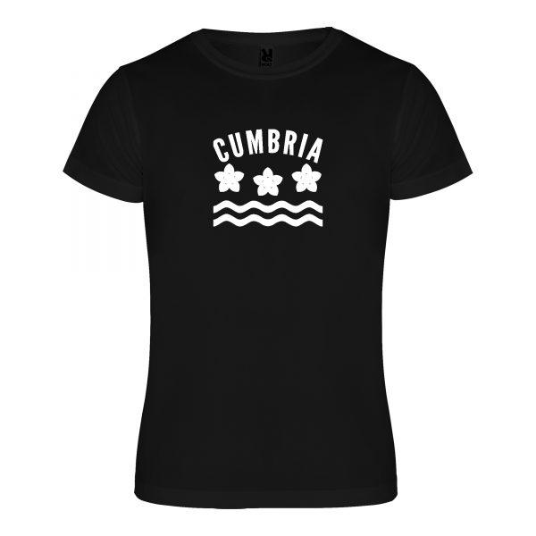 Cumbria County Technical Running T-shirt