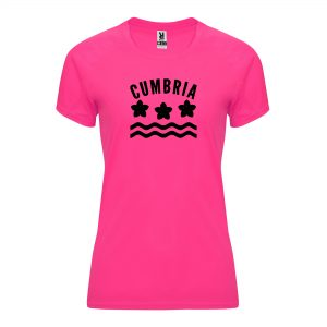 Cumbria County Womens Technical Running T-shirt