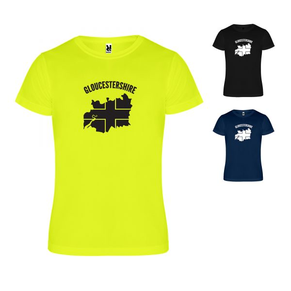 Gloucestershire County Technical Running T-shirt