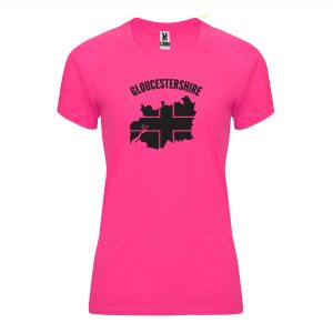Gloucestershire County Womens Technical Running T-shirt