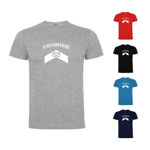 Staffordshire County Mens T-shirt