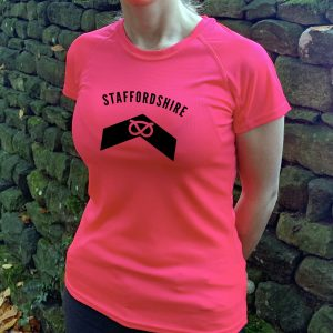 Staffordshire County Womens Technical Running T-shirt