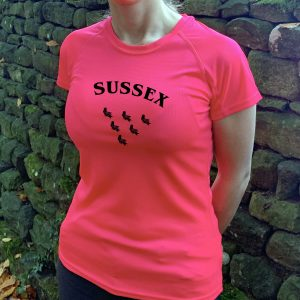 Sussex County Womens Technical Running T-shirt