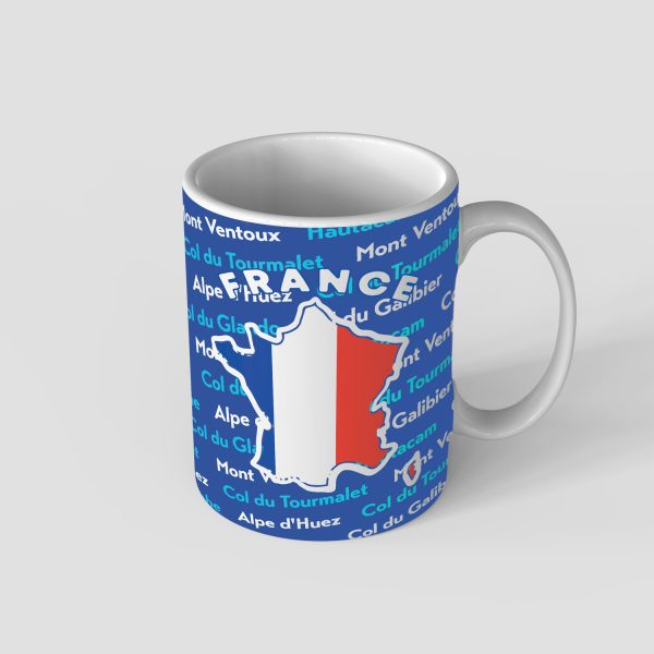 French Iconic Climbs Mug