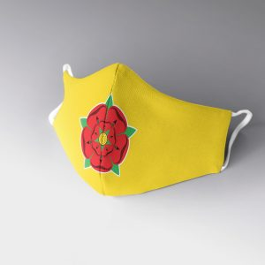 Lancashire Rose Face Mask