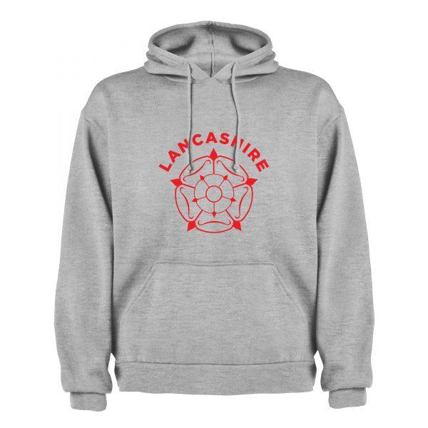 Lancashire rose hoodie