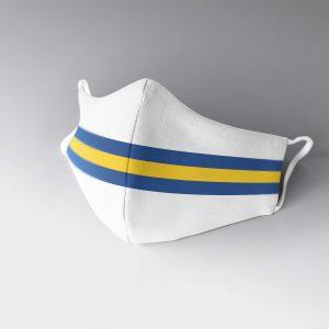 Leeds Stripes Face Mask