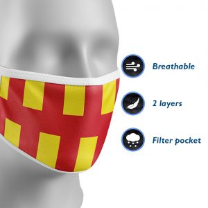 Northumberland County Face Mask
