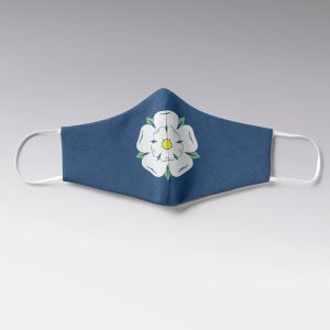 Yorkshire Rose Face Mask