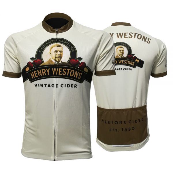 The Official Henry Westons Vintage Cider Cycling Jersey