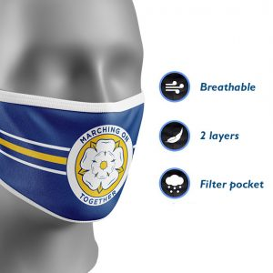 Leeds Marching On Face Mask