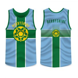 Derbyshire County Running Vest