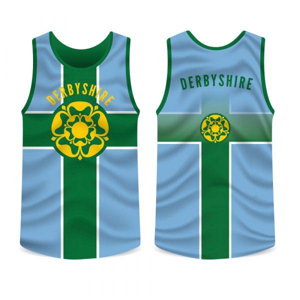 Derbyshire County Running Vest