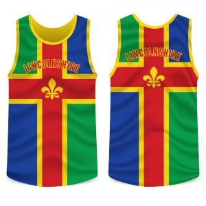 Lincolnshire County Running Vest