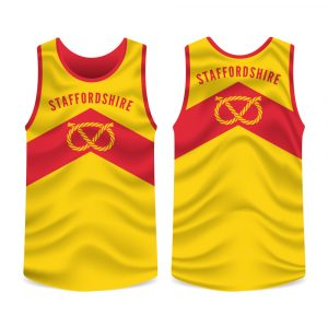 Staffordshire County Running Vest