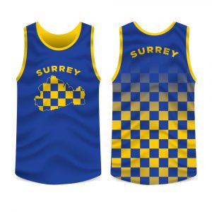 Surrey County Running Vest