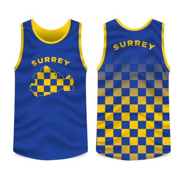 Surrey County Running Vest