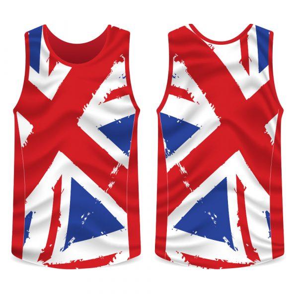 Union Jack Running Vest