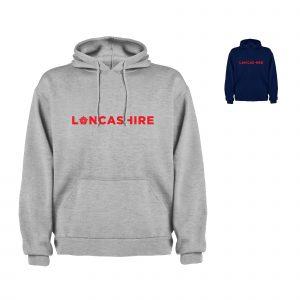 Lancashire Text Hoodiee