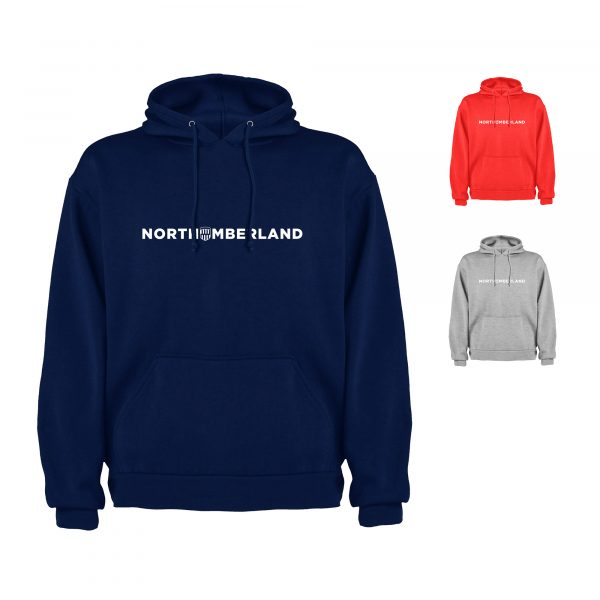 Northumberland Text Hoodie