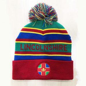 Lincolnshire County Bobble Hat