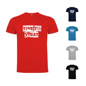 Time To Sweat Mens T-shirt