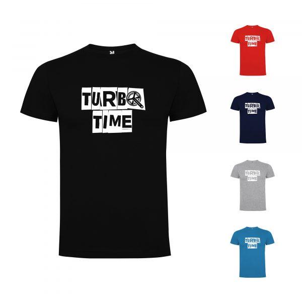 Turbo Time Mens T-shirt