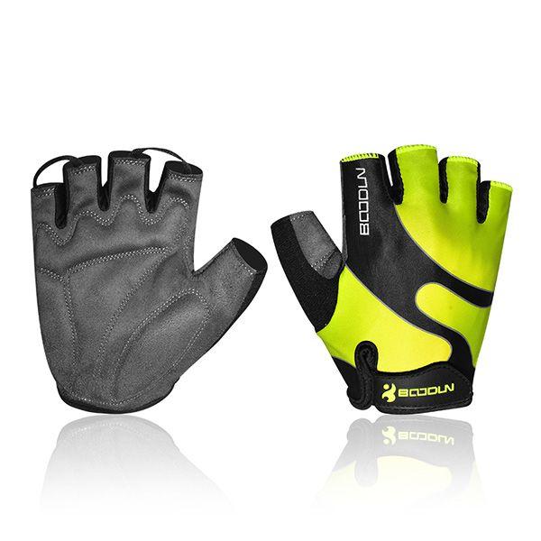BSK Glo Mens Short Finger Cycling Gloves