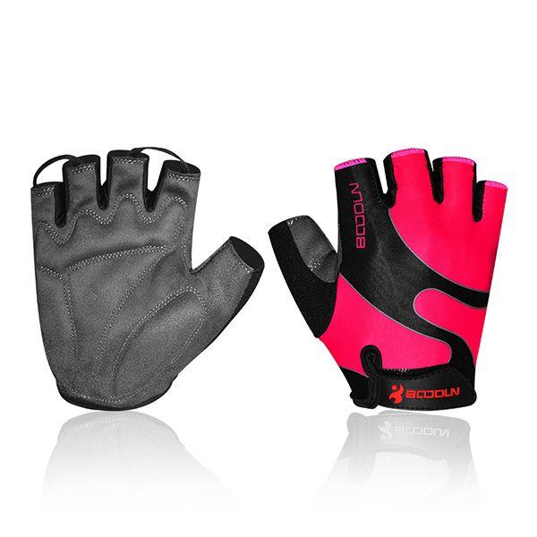 BSK Glo Womens Short Finger Cycling Gloves