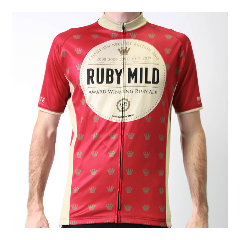 BSK Ruby Mild Short Sleeve Club Cut Cycling Jersey