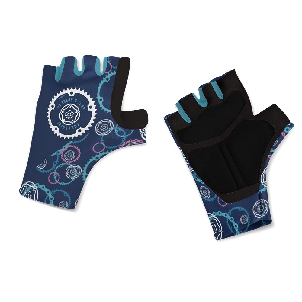 Yorkshire Cogs and Roses CC Gel Cycling Gloves