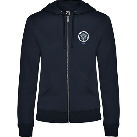 Yorkshire Lass Sportive Women's Cut Zipped Hoodie