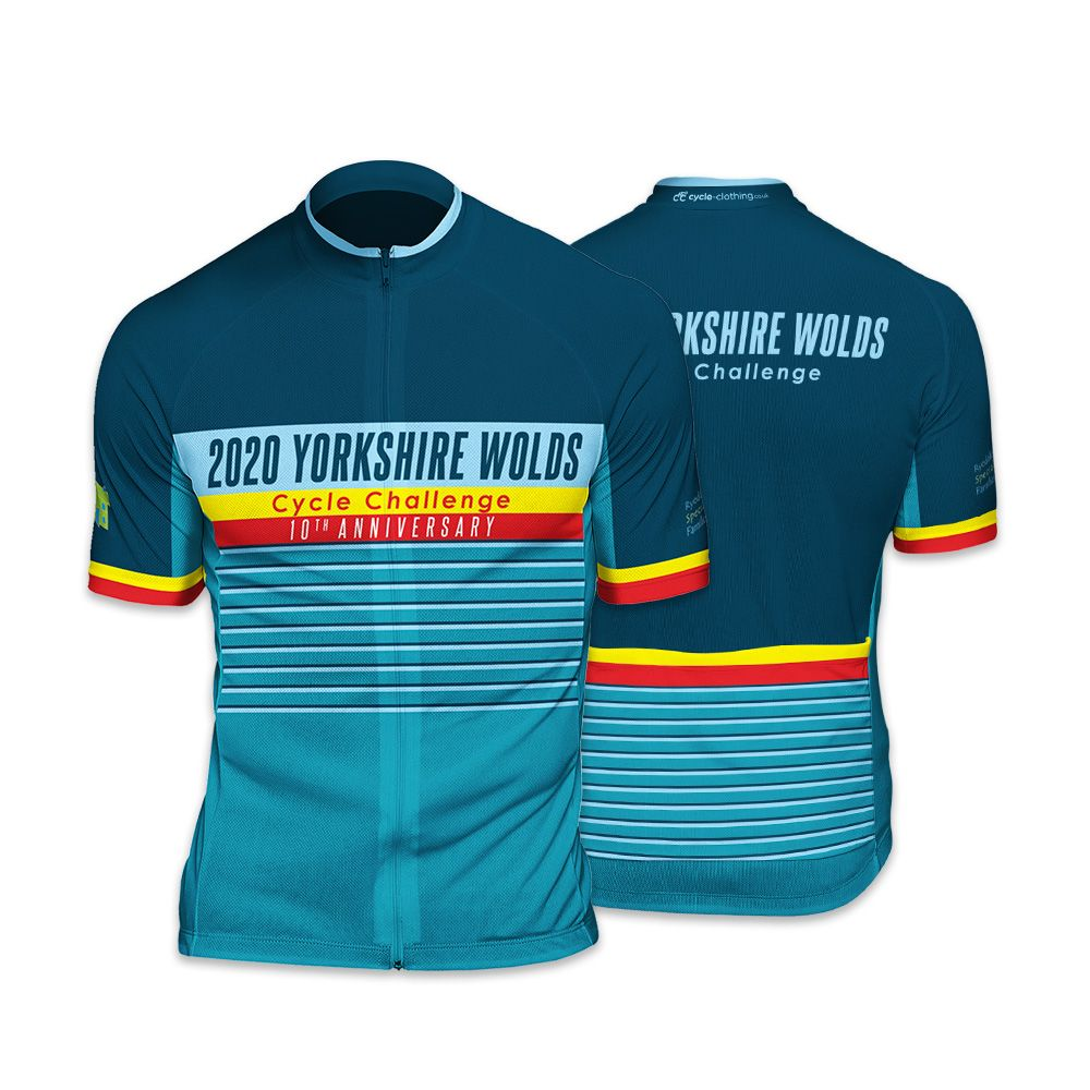 Yorkshire Wolds Mens Cycling Jersey