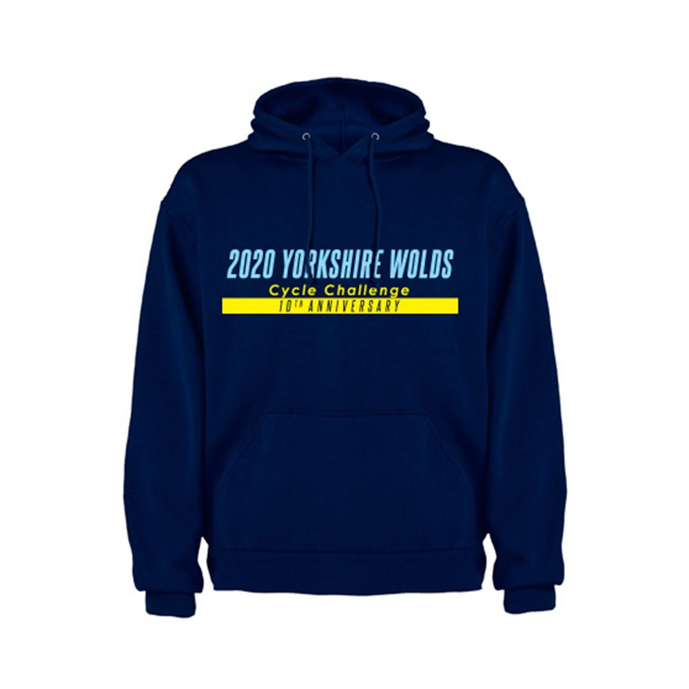 Yorkshire Wolds Cycling Challenge Hoodie