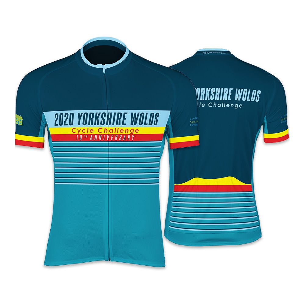 Yorkshire Wolds Womens Cycling Jersey